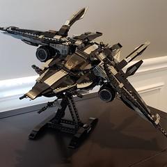 LEGO Galactic Bounty Hunter Spaceship MOC
