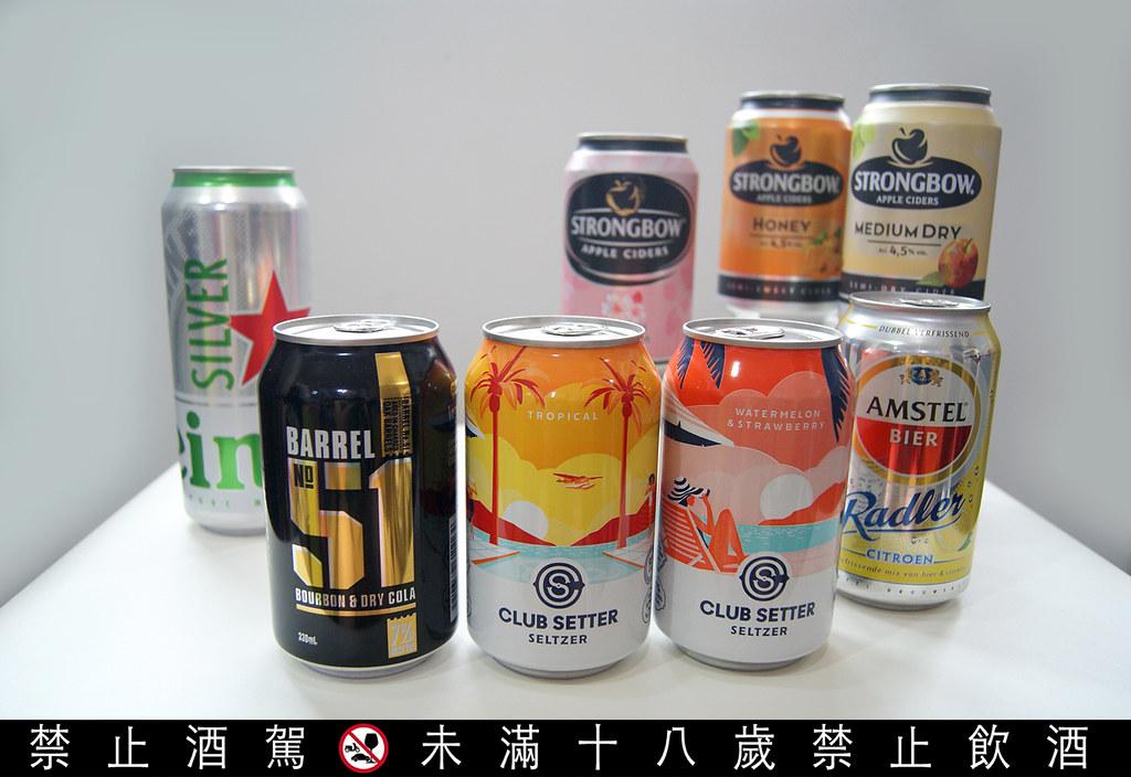 【圖說七】號稱「無罪惡酒精飲用體驗」的酒精氣泡飲(SELTZER)相當切中消費者需求,受歐美年輕族群喜愛。