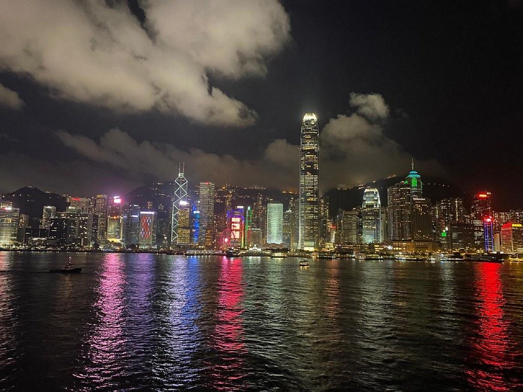 (圖4)欣賞香港尖沙咀實時美景