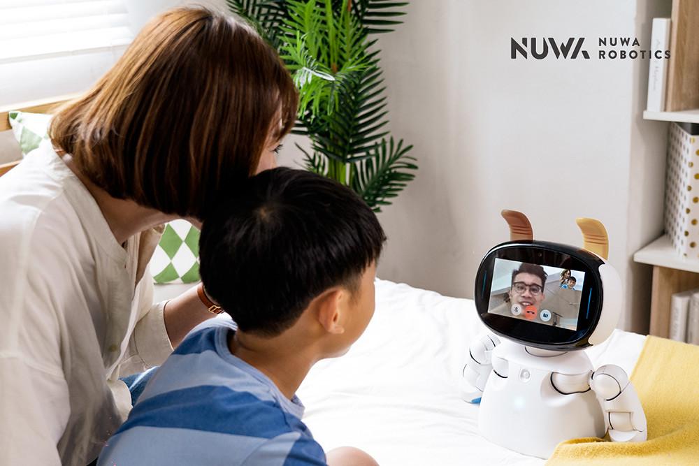 圖說三:最受消費者喜愛的「視訊遙控」功能,在全新系列「Kebbi-Air-S」上亦有操作速度及連線品質上大幅度的提升。