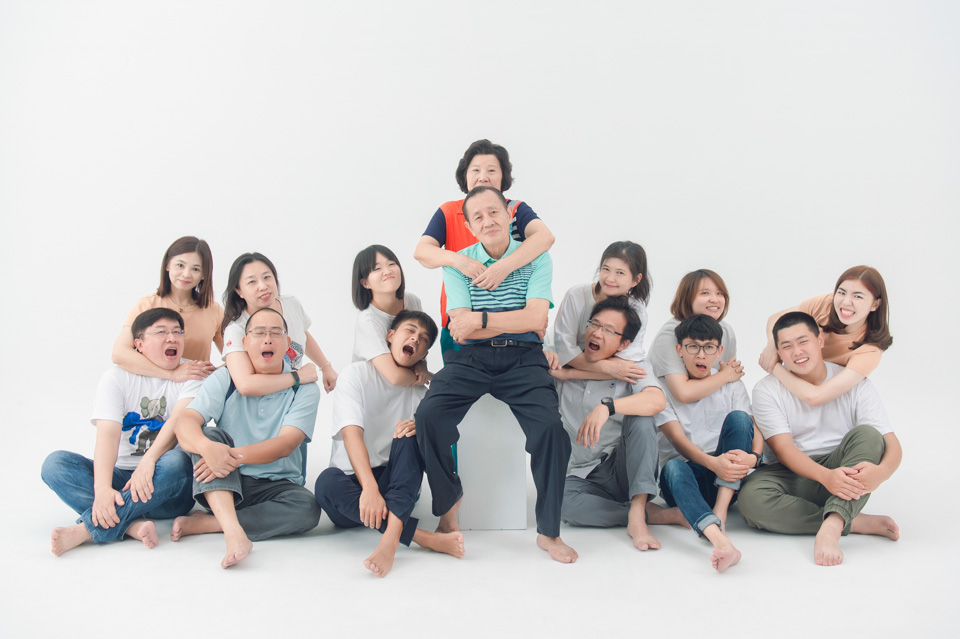 台南全家福照 家人滿滿歡樂的幸福回憶 PS 013