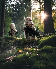 Airborne Clone Troopers on patrol