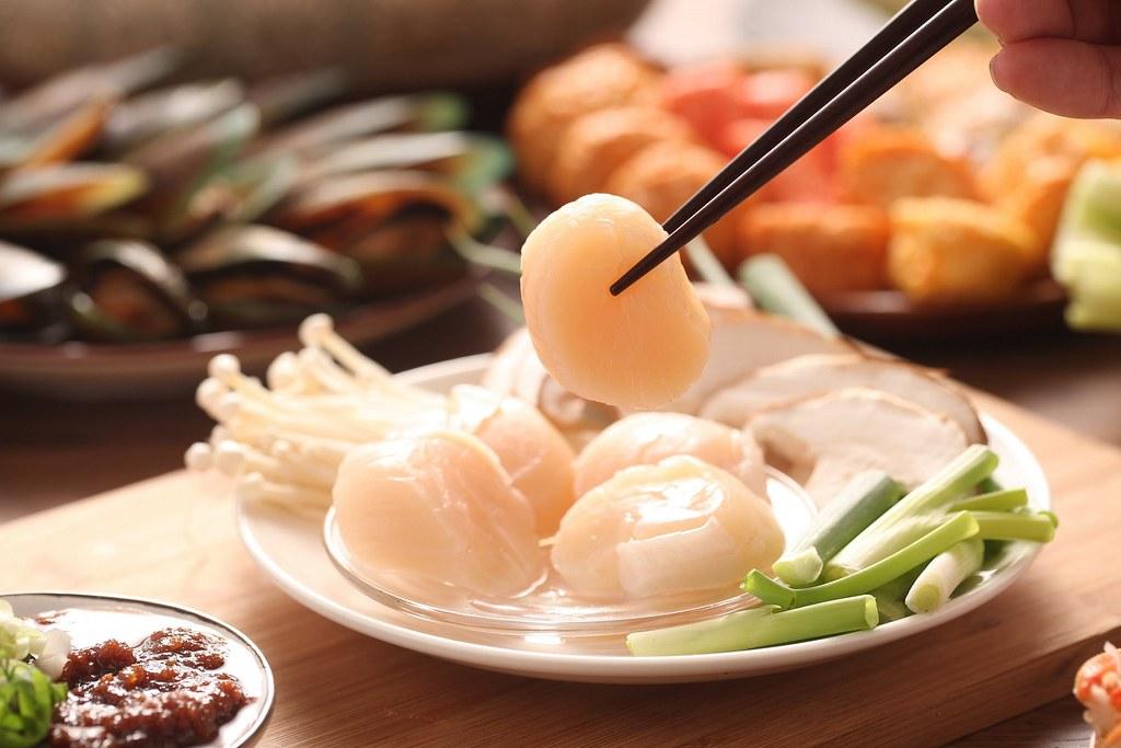 圖2. 「佐佐鮮北海道生食級干貝」源自水質純淨的北海道,每顆干貝都甘甜 l 誠品線上