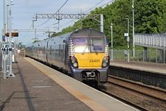 Photo of 334025 (with 334019 leading) 2H16 15:54 Helensburgh Central to Edinburgh; Blackridge; 18-06-2021