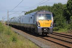 Photo of 334023 (with 334027 leading) 2H46 15:24 Helensburgh Central to Edinburgh; Blackridge; 18-06-2021