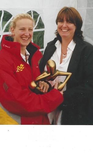 Mel Healey and Rebecca Draper