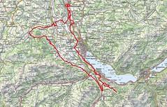 Strecke Monatstour Juni 2021