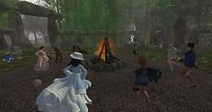 Celebrating Litha at the Stone Circle