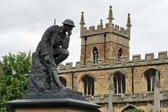 Photo of Huntingdon - 'The Thinking Soldier'