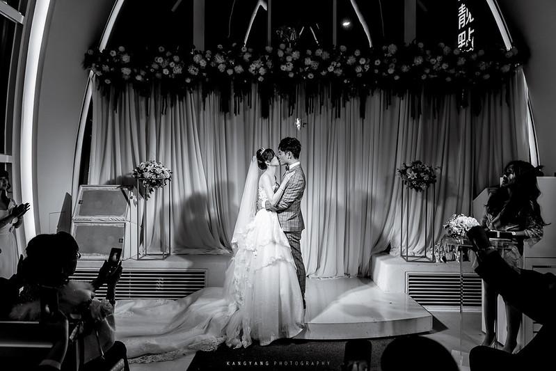 [新北婚攝] 尚倫 & 詩晴 證婚晚宴 婚禮紀錄 @ 新店星靚點花園飯店 星曲劇場  #婚攝楊康