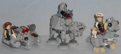 Lego - 75295 & 75298 Microfighters
