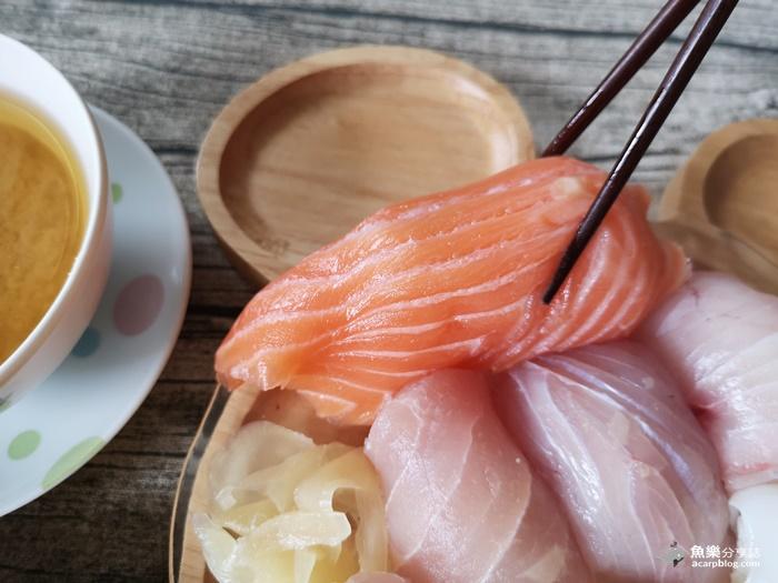 【台北萬華】三味食堂 外送滿千元免運|手掌長鮭魚握壽司還不吃爆!! @魚樂分享誌