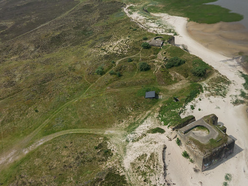 Remains of the Atlantikwall on the island of Fanø