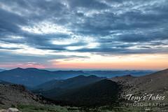 June 19, 2021 - Sunrise from Mount Evans. (Tony's Takes)