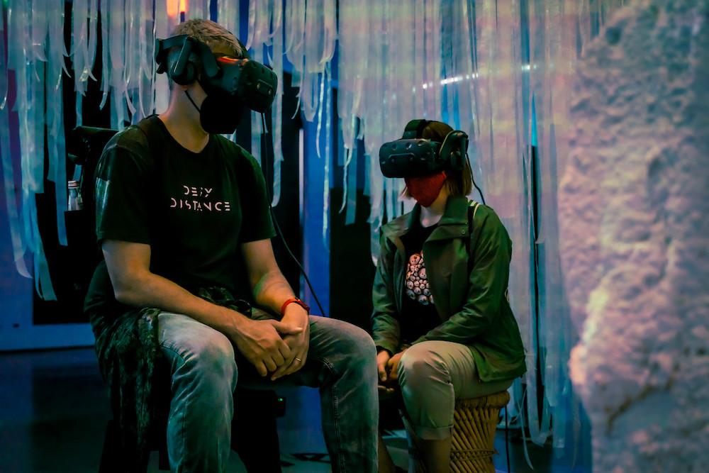 〈喚說其語 Ep.2 庫桑達〉奪翠貝卡影展最佳VR敘事大獎 展演現場2