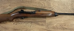 M1 Carbine brought back to life. Reblued and stock refinished
