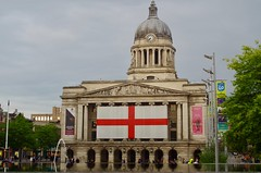 Photo of Nottingham's Council House in the Old Market Square
