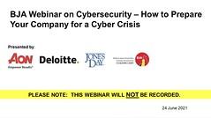24-06-2021 BJA Webinar on Cybersecurity - Screenshot 2021-06-24 101321