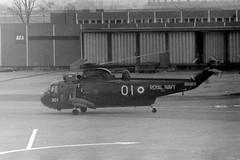 Photo of AH07E XV711 PW301 Sea King GLA