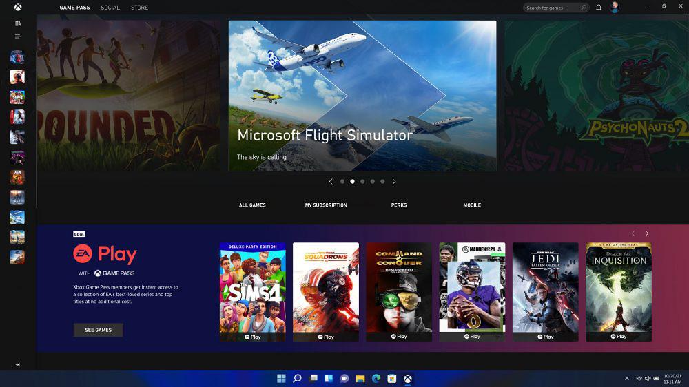 【新聞圖片五】Windows-11-亦解鎖系統硬體潛力,加入最新遊戲技術以提供使用者極緻的身歷其境體驗,包含DirectX-12-Ultimate、DirectStorage、Auto-HDR等功能。