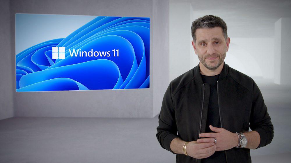 【新聞圖片一】微軟今日宣布推出新一代作業系統Windows-11,煥然一新的嶄新設計讓使用者得以更貼近喜愛的人們與事物。