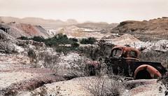 View from Rainbow Mine. Terlingua, Texas