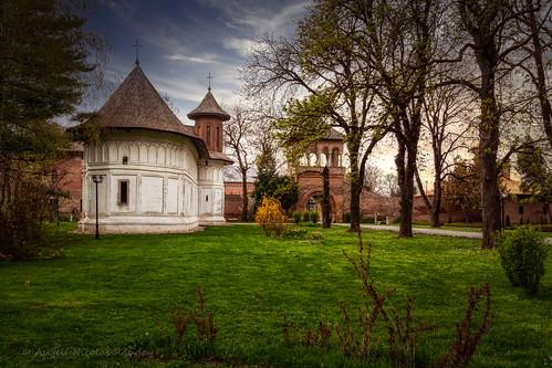 The little white church in Mogoșoaia