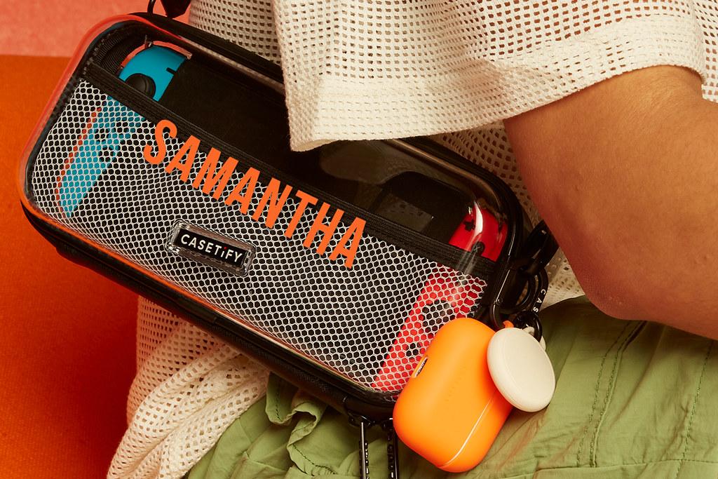 04. CASETiFY 全新推出多功能客製化「Nintendo Switch 保護套」,具防摔防水功能且攜帶便利