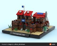Micro-scale Fort Legoredo