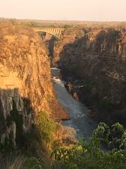 View of the Victorial Falls Bridge