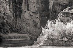 Canyon in IR