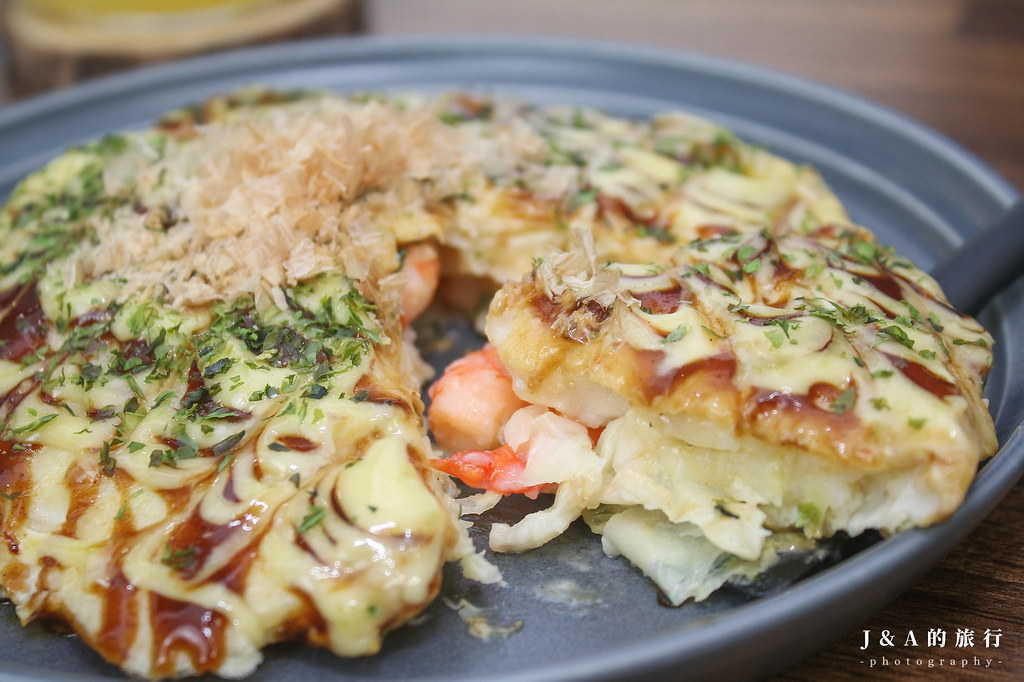 【食譜】大阪燒。大阪著名美食在家輕鬆做,自己調麵糊不用預拌粉的做法 @J&A的旅行