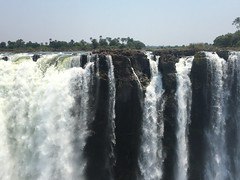 View of Zambia side of Vic Falls