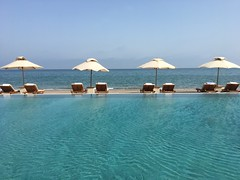 Poolside View in Muscat