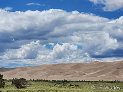 June 26, 2021 - Gorgeous view at the Great Sand Dunes. (LE Worley)