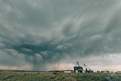 June 19, 2021 - Dramatic clouds on the eastern plains. (Jessica Fey)