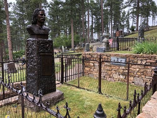 Grave of Wild Bill Hickock in Deadwood by Wesley Fryer, on Flickr