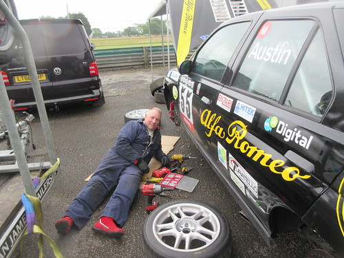 Scott Austin spending more time on the ground tending the 155