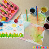 Ice & Bubble Painting