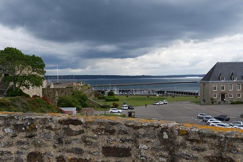 Vue sur la rade de Brest depuis le Chateau