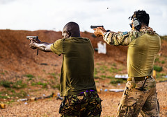 Range day with the Kenya Defense Force