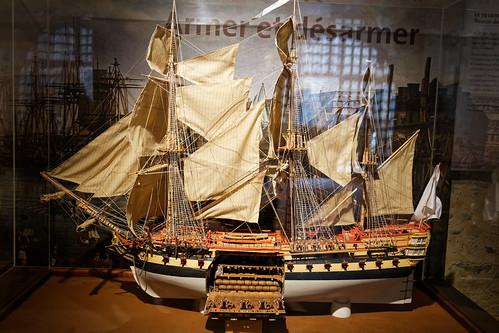 Cale d'un vaisseau de 74 canons