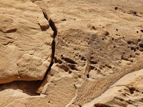 Jabal Ikmah, ancient Arabian rock art and inscription site; 1st millenium BCE; al-Ula, Saudi Arabia  (8)