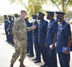 AFAFRICA Airmen solidify bond with Senegalese air force
