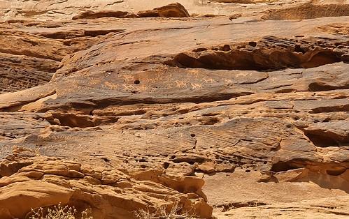 Jabal Ikmah, ancient Arabian rock art and inscription site; 1st millenium BCE; al-Ula, Saudi Arabia  (1)