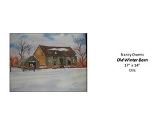 """Old Winter Barn • <a style=""""font-size:0.8em;"""" href=""""http://www.flickr.com/photos/124378531@N04/51281182973/"""" target=""""_blank"""">View on Flickr</a>"""