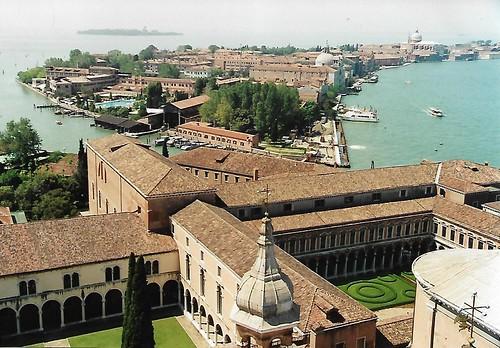 Venezia, the Giudecca seen from the Campanile of San Giorgio Maggiore