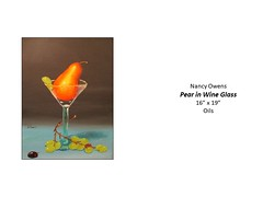 """Pear in Wine Glass • <a style=""""font-size:0.8em;"""" href=""""http://www.flickr.com/photos/124378531@N04/51282027270/"""" target=""""_blank"""">View on Flickr</a>"""