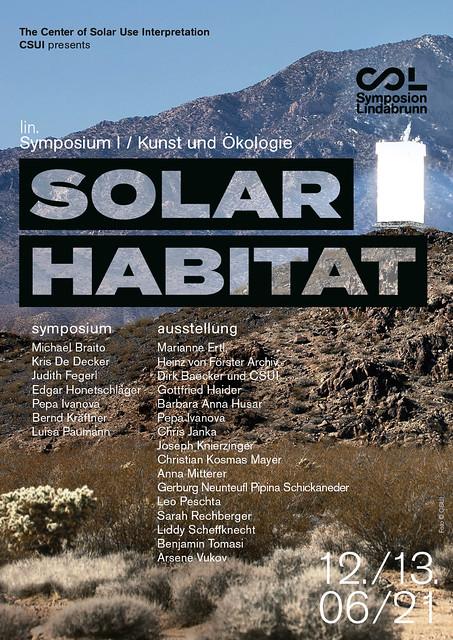 Solar Habitat Ausstellung und Symposium: Solar Habitat_Flyer_A5_PRODUKTION