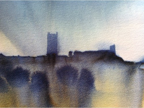 Castles + Ruins in Watercolour